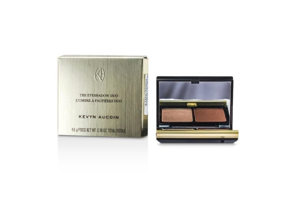 Kevyn Aucoin The Eye Shadow Duo - # 215 Cool Tan/ Ruddy Earth (4.8g/0.16oz)