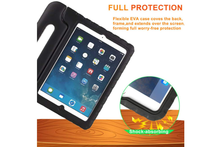 """FOR APPLE iPad Pro 10.5"""" 2017 KIDS HEAVY DUTY CASE SHELL COVER SHOCKPROOF-Black"""