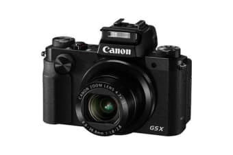 New Canon PowerShot G5X 20MP Digital Camera (FREE DELIVERY + 1 YEAR AU WARRANTY)