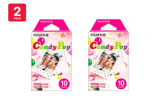Fujifilm Instax Mini Candy Pop Film - 10 Sheets (2 Pack)