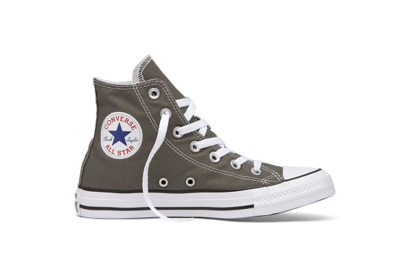 Converse Chuck Taylor All Star Hi (Charcoal, US Mens 5.5 / US Womens 7.5)