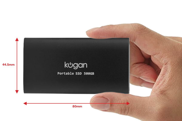 Kogan S5 Ultra Fast Portable SSD 500GB