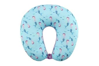 Something Different Mermaid Magic Travel Neck Pillow (Blue) (One Size)