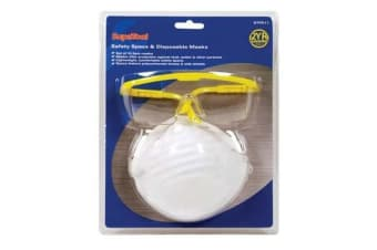 SupaTool Adults Unisex 11 Piece Protection Kit (White) (One Size)