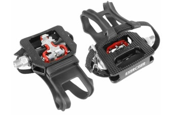 Wellgo WPD-E003 Shimano SPD Compatible Exercise Spin Bike Pedals Sealed Bearings