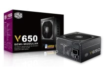 Coolermaster Vanguard 650W 80+Gold Fully Modular, ATX PSU. 5 Years Warranty
