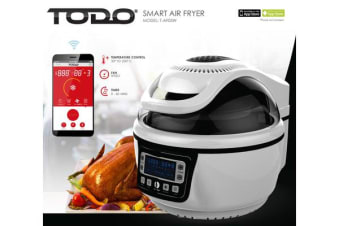 TODO 10L 1400W Smart Air Fryer WiFi Connectivity Remote APP T-AF05W