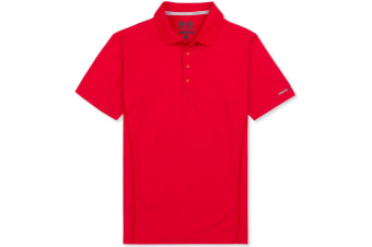 Musto Mens Evolution Sunblock Short Sleeve Polo Shirt (True Red)