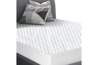 Dreamz Fully Fitted Waterproof Mattress Protector Quilted Honeycomb Topper Cover  -  King singleKing single