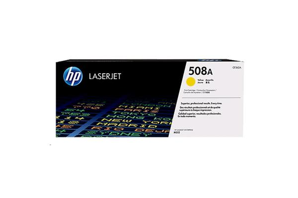 HP TONER 508A YELLOW