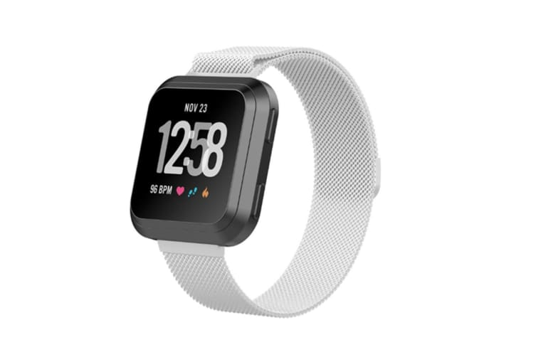 Milanese Loop Stainless Steel Replacement Bracelet for Fitbit Versa Small