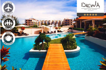 PHUKET: 7 Nights at Dewa Phuket Beach Resort Including Flights for Two