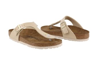 Birkenstock Women's Gizeh Patent Thong (Sand)