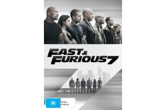Fast & Furious 7 with UltraViolet Copy DVD Region 4