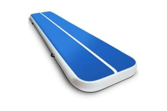 4 x 1M Inflatable Air Track Mat (Blue)