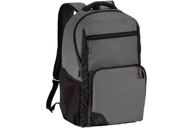Bullet Rush 15.6in PVC Free Computer Backpack (Grey) (29.5 x 18 x 44 cm)