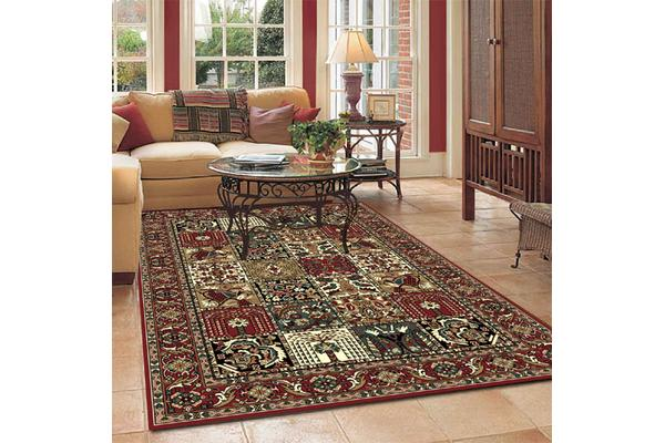 Traditional Compartment Pattern rug 280x190cm