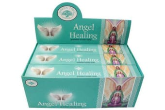 Angel Healing Bulk Incense 144 Sticks Premium Masala Green Tree Yoga