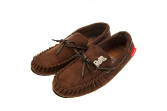 Liverpool FC Mens Moccasins (Brown) (11/12 UK)