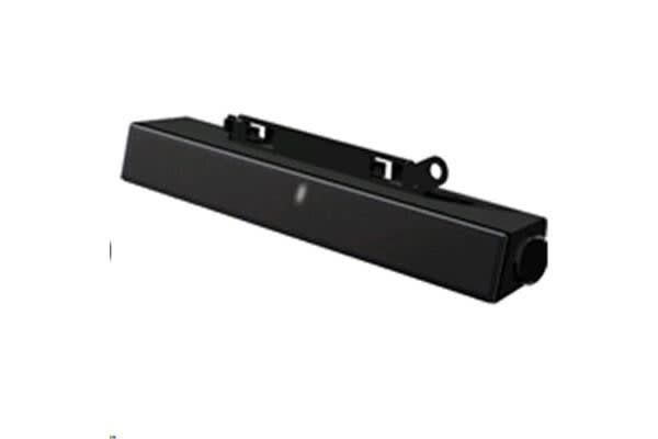 Dell AX510 2.0 Sound Bar Speaker - 10 W - Device Mountable - Lightweight - Black