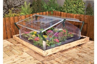 Maze Cold Frame Greenhouse Double