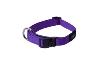 Rogz Dog Collar Purple - XXL