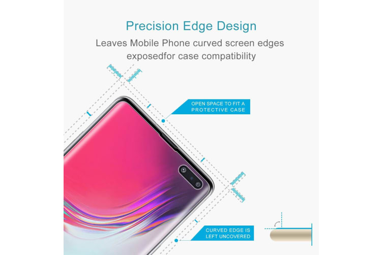 For Samsung Galaxy S10 5G Screen Protector Clear Shatterproof Transparent Film