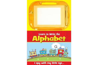 Activity Sketch Pad: Learn to Write Alphabet - The Alphabet
