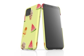 For Google Pixel 4 Snap Case Lightweight Protective Slim Unique Cover Fruits