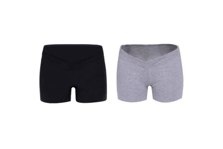 (2 Pack) Pregnant Women Wear Bottompants,Safety Pants To Prevent Low Light Waist Dressing - 12 M