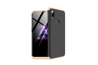 Frosted Shield Matte Ultra Thin Slim Shockproof Shell Cover For Vivo Gold+Black Nex S(Ud)