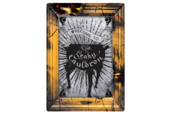 Harry Potter Leaky Cauldron Small Tin Sign