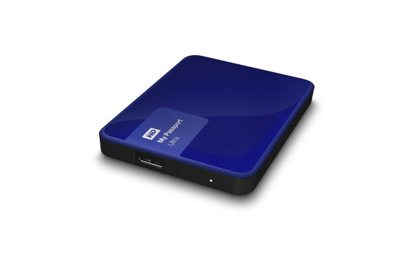 "WD My Passport Ultra Portable 2.5"" 2TB External USB 3.0 HDD - Blue (WDBBKD0020BBL-PESN)"