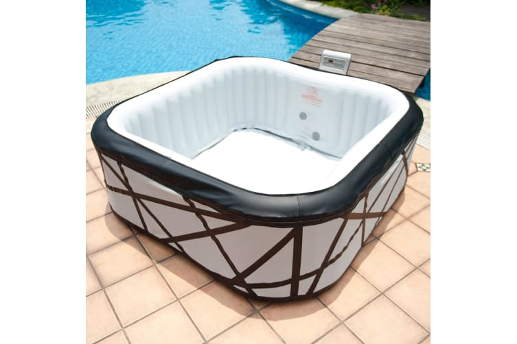 MSPA 4-6 Person Luxury Inflatable Portable Spa Pool Hot Tub Bath