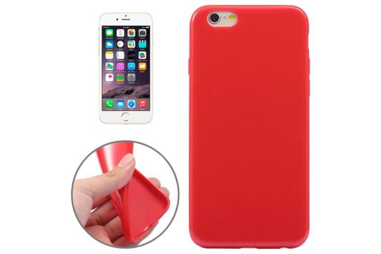 buy online 127f8 f7db2 For iPhone 6S PLUS 6 PLUS Case High-Quality Shielding Cover Scarlet Red