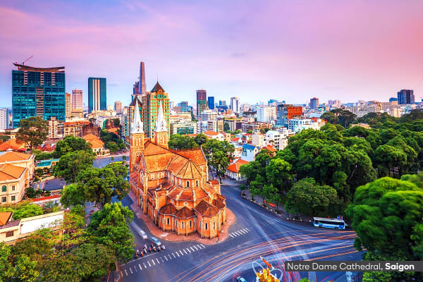 VIETNAM: 14 Day Vietnam Discovery Tour Including Flights for Two