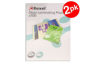200pc Rexel A3 Laminating Pouches/Sheets 150 Micron f/Document/Photos Protection