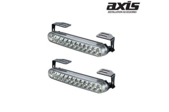 AXIS 160mm 24 Piranha LED Daytime Running Lights Pair