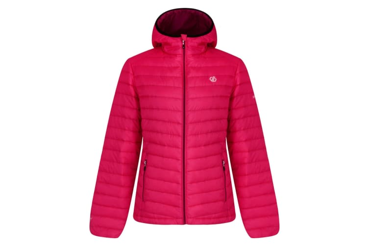 Dare 2B Womens/Ladies Elative Down Fill Insualted Jacket (Cyber Pink) (8 UK)