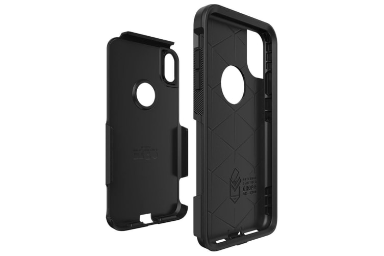 """Otterbox Commuter Case Cover Dual Protection for Apple iPhone Xs Max 6.5"""" Black"""