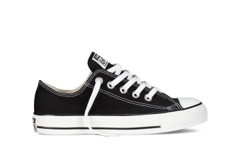 Converse Chuck Taylor All Star Ox Lo (Black, US Mens 8 / US Womens 10)