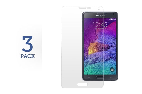 3 Pack Screen Protector for Samsung Galaxy Note 4