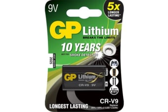 Gp 9V Lithium Battery