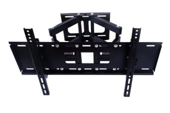 "TODO 32"" - 70"" Tv Wall Mount Bracket Dual Arm W/ 30° Tilt 180° Swivel Vesa Compliant"