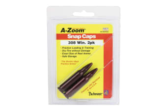 A-Zoom 308 Winchester Metal Snap Caps - 2 Pack