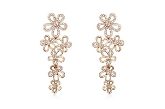 Bloomingdale Earrings Embellished with Swarovski crystals