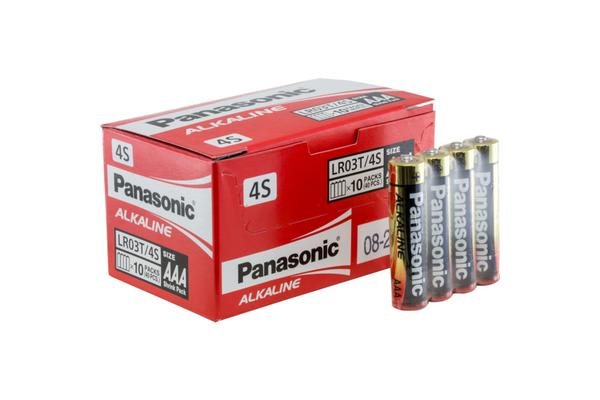 Panasonic 40 Pack Aaa Alkaline Battery