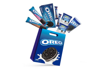 7pc Oreo Kids Showbag w/Original/Chocolate/Strawberry Cookie/Mini Pouch/wafers