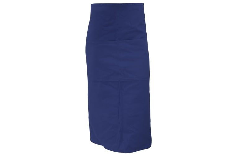 Bargear® Unisex Long Bar Apron / Aprons And Tabards (Navy Blue) (One Size)