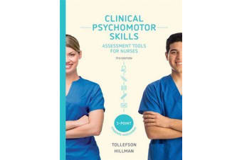 Clinical Psychomotor Skills (3-Point) - Assessment Tools for Nurses with Online Study Tools for 24 Months